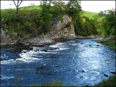 09. DAY 1. RIVER WHARFE AT LOUP SCAR