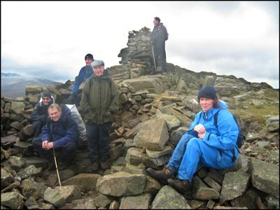 2. CARROCK FELL - am I REALLY here with all these geezers?!