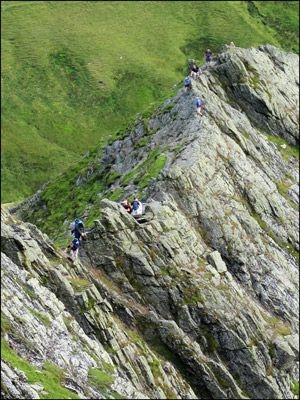15. ON SHARP EDGE, BLENCATHRA