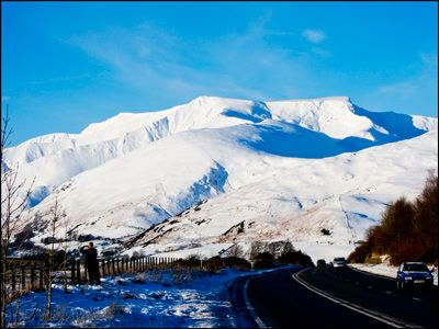 22. BLENCATHRA IN WINTER RAIMENT