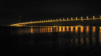27. HUMBER BRIDGE AT NIGHT