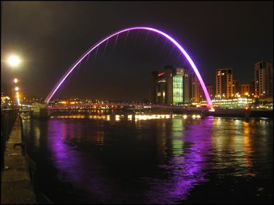 06. THE MILLENIUM (BLINKING EYE) BRIDGE - GATESHEAD