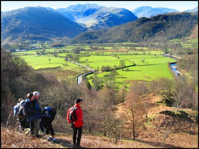 37.BORROWDALE FROM GRANGE FELL
