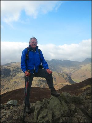 BARRIE'S WAINWRIGHT COMPLETION ON LINGMOOR FELL
