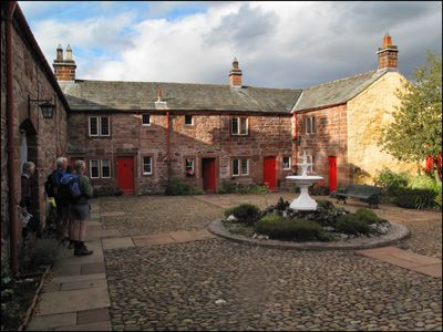 18. LADY ANNE'S ALMSHOUSES IN APPLEBY
