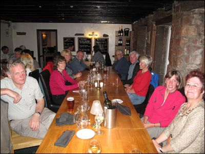 19. DINING AT THE ROYAL OAK IN APPLEBY