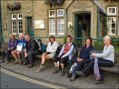 03. ARRIVED AT GRASSINGTON AT THE END OF DAY 1