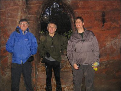 THREE INMATES OF LACY'S CAVES
