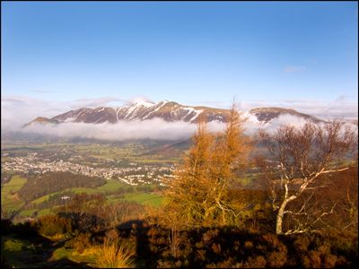 19. KESWICK AND SKIDDAW FROM WALLA CRAG