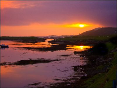 23. HEBRIDEAN SUNSET