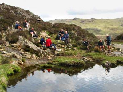 LUNCH BY INNOMINATE TARN WITH AW