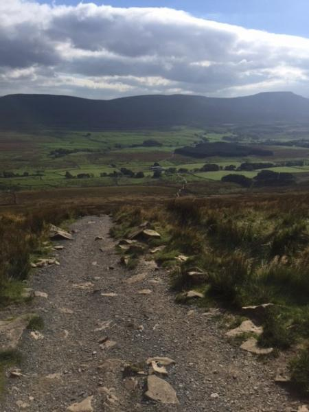 Path leading to Ingleborough