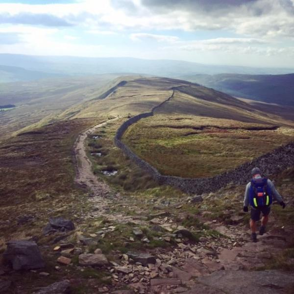 Descending Whernside