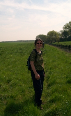 Julie on the Salford Trail
