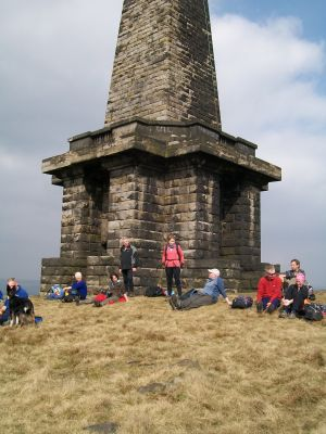 Afternoon tea at Stoodley Pike