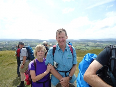 Top of the fell for Anne and Chris