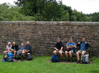 Lunch at Dunsop Bridge