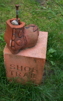 The Shoe Trail signs