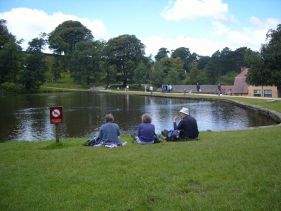 Lunch at Lyme Park