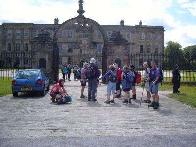Hall at Lyme Park