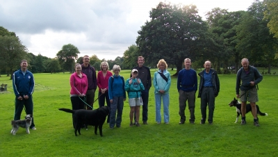 Group in Moss Bank Park