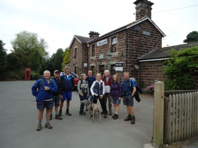 The group at Delamere