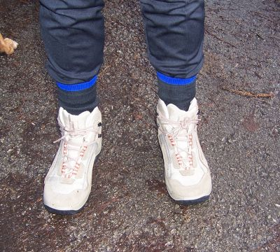 Kath's Boots before