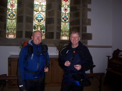 Will Peter and Alan start praying for good weather?