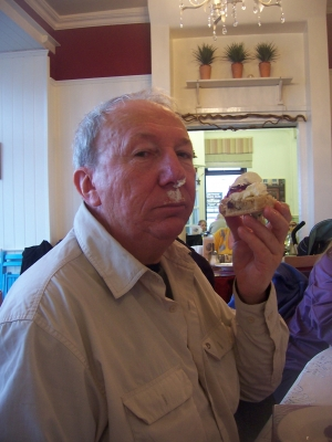Allan with scone