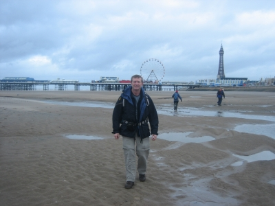 Tom at the seaside