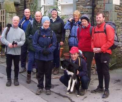 Setting off for Troutbeck