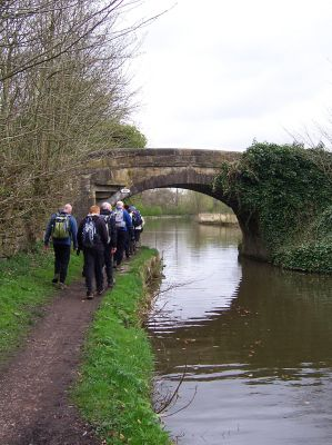 Back along the Canal