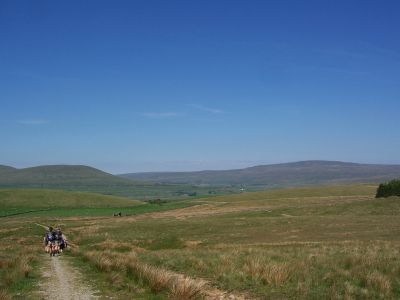 First glimpse of Ribblehead