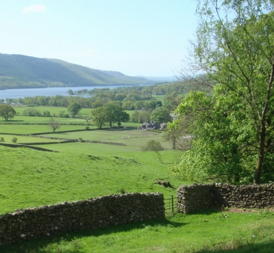 Looking back over Coniston Water