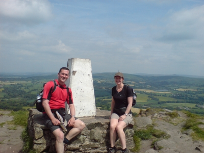 Trig point at Cloud