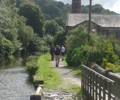 Along the canal and back to Todmorden