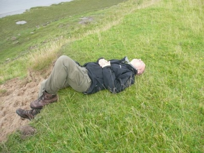 It was all too much for Martin!
