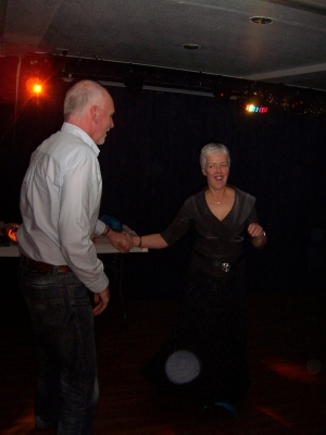 David and Alma boogie on down
