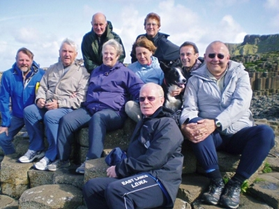 All at Giants causeway