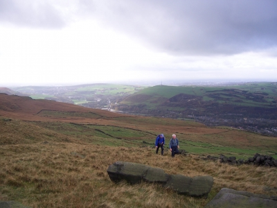 View from Slades Rocks
