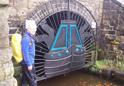 Neil at Canal Tunnel