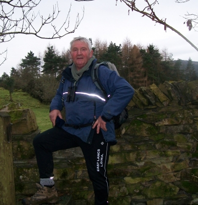 Norman at stile
