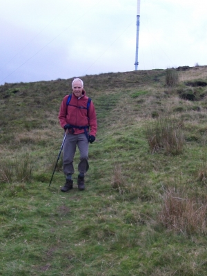 Coming down off Winter Hill