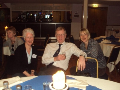 June, Peter and Hilary at the AGM