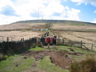 Leaving Winter Hill