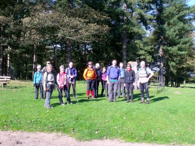 In Tatton Park at No 1 Parachute Monument