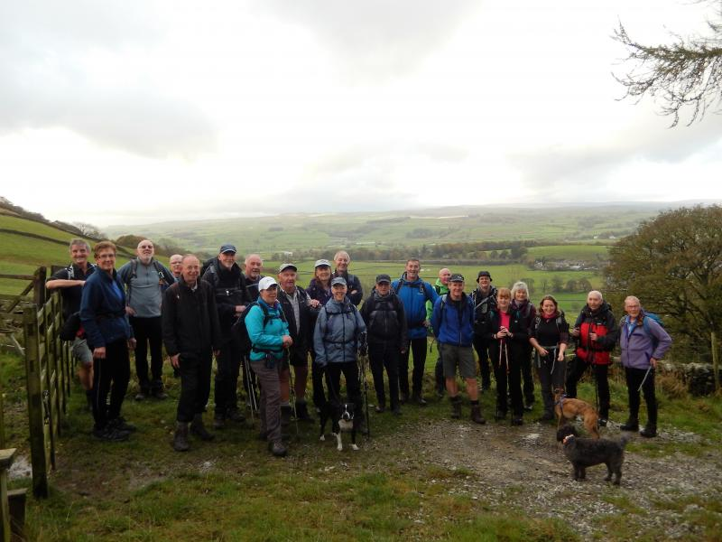 The Group outside Settle