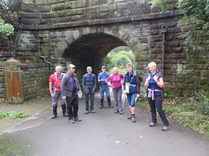 Leaving Hebden Bridge