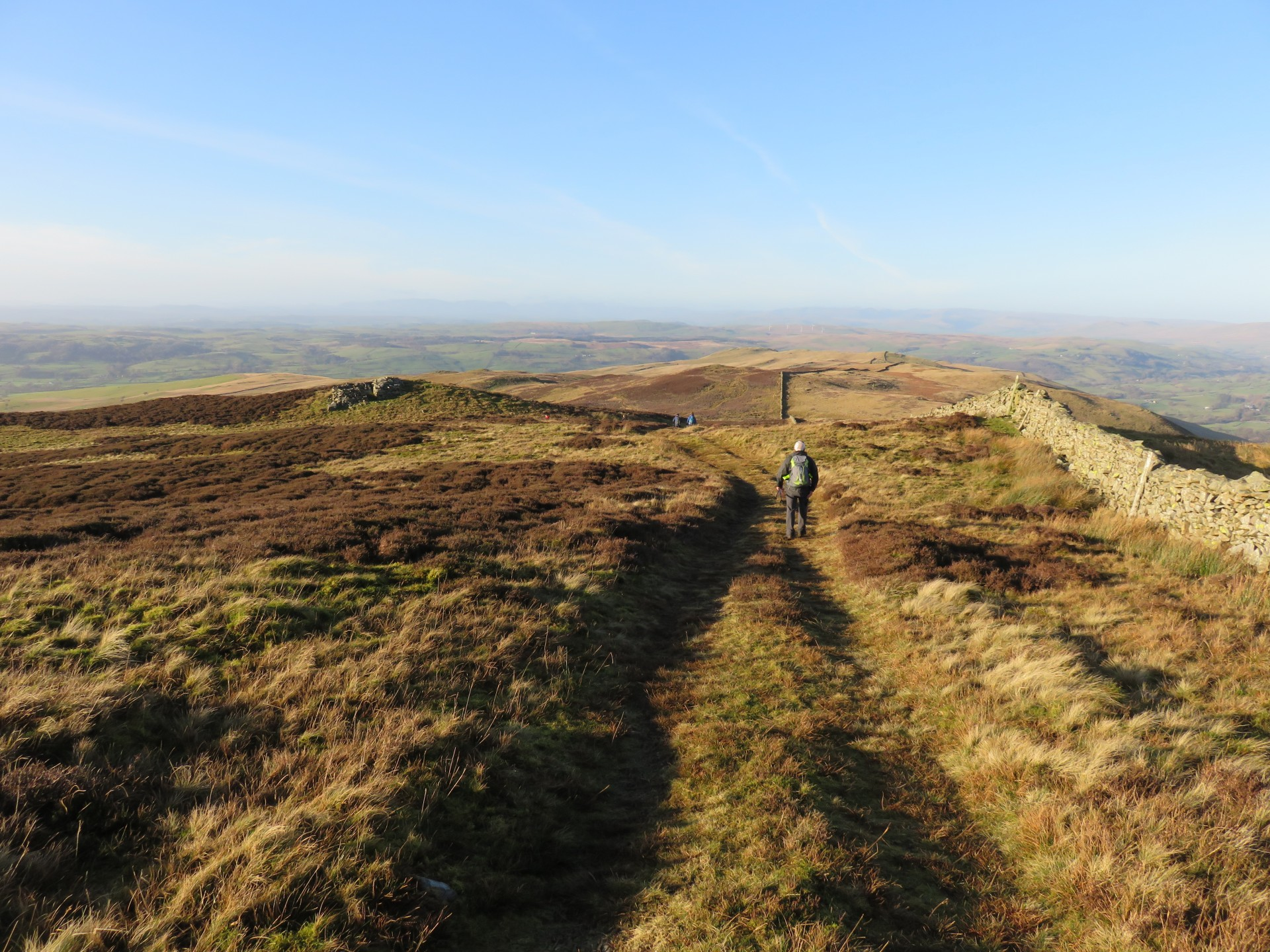 Along the Ridge of Calf Top