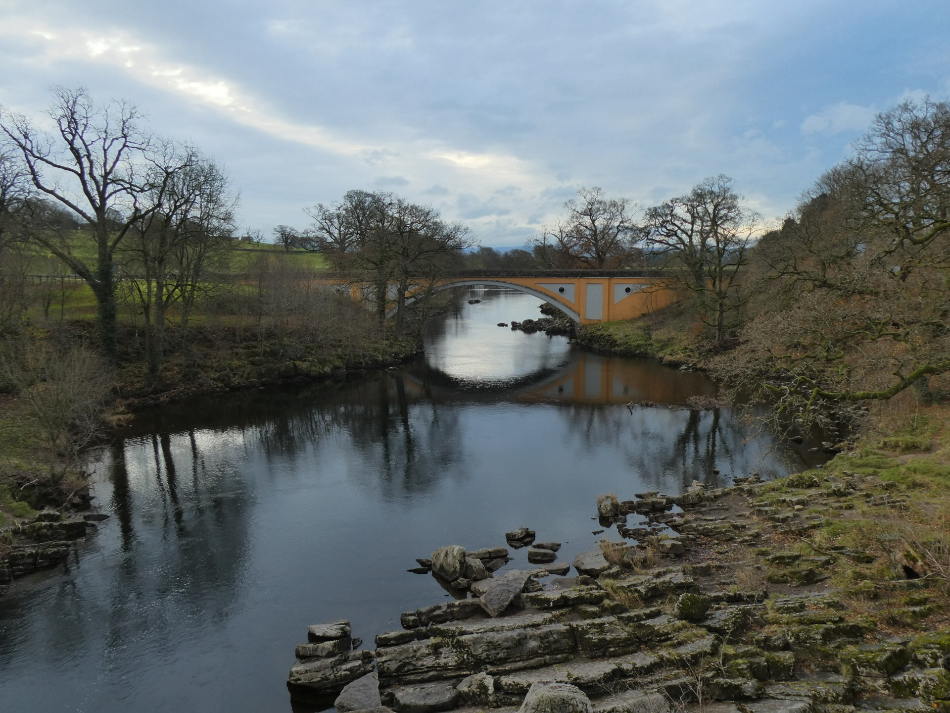Devil's Bridge, the road bridge